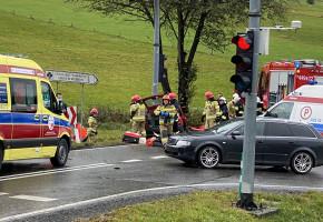 Gładyszów. W zderzeniu samochodów zginęły dwie osoby-8634
