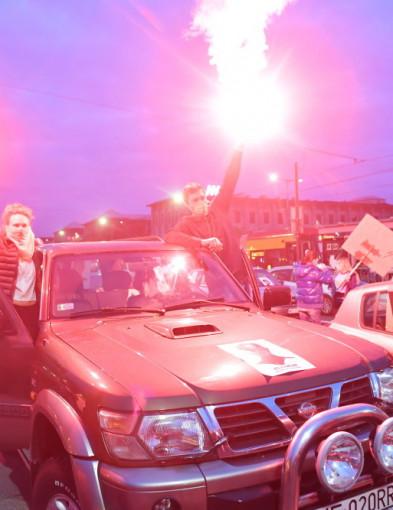 Protesty i blokady w kolejnych miastach-8683