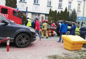 Gorlice. Potrącenie przechodnia na ulicy Jagiełły-9518