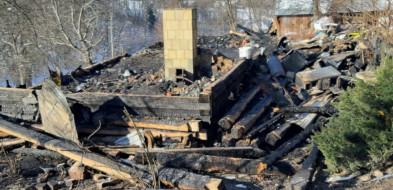Siedliska. Postęp prac związanych z budową domu dla pogorzelców-9581