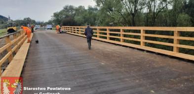 Uście Gorlickie. Most już przejezdny-10455